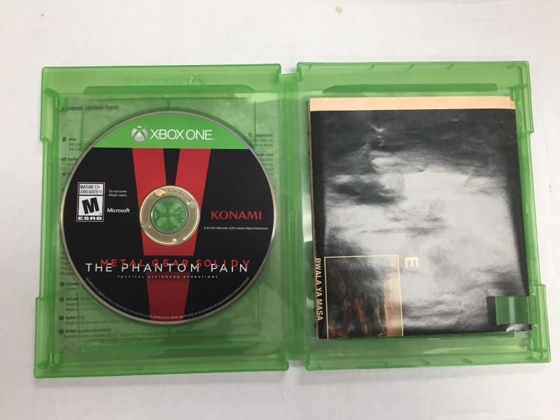 MICROSOFT XBOX ONE: METAL GEAR SOLID V: THE PHANTOM PAIN XBOX ONE