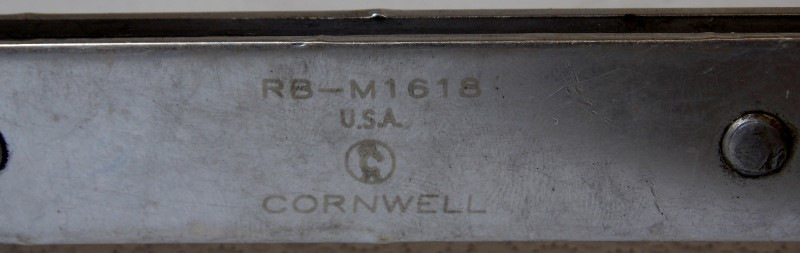 CORNWELL 12 POINT FLAT RATCHETING BOX END WRENCH 16MM-18MM, RB-M1618