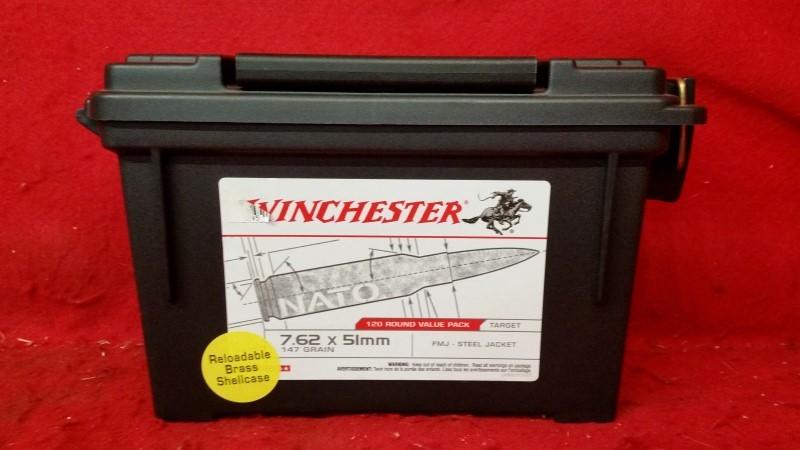 Winchester Plastic Ammo Can - Empty