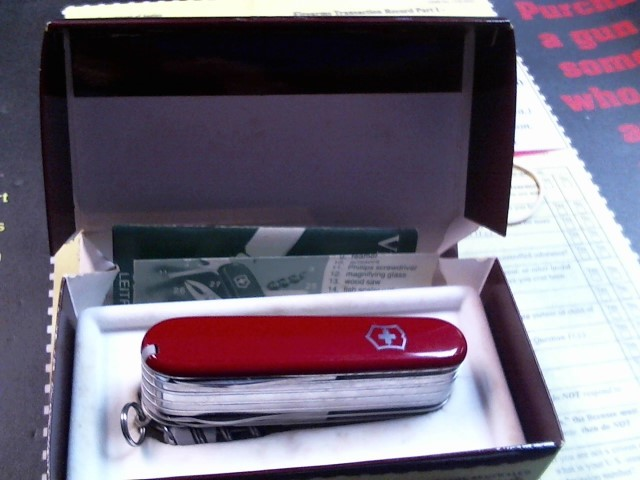 SWISS ARMY Pocket Knife SWISSCHAMP