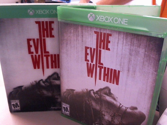 THE EVIL WITHIN-XBOX ONE