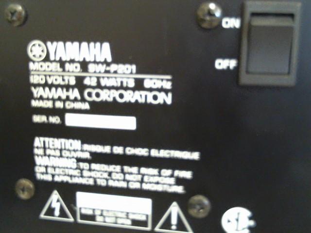 YAMAHA Surround Sound Speakers & System SW-P201