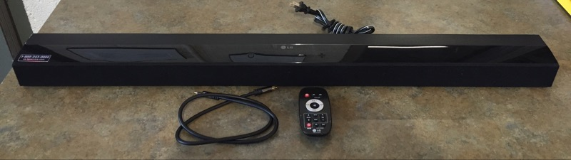 LG Surround Sound Speakers & System NB2022A