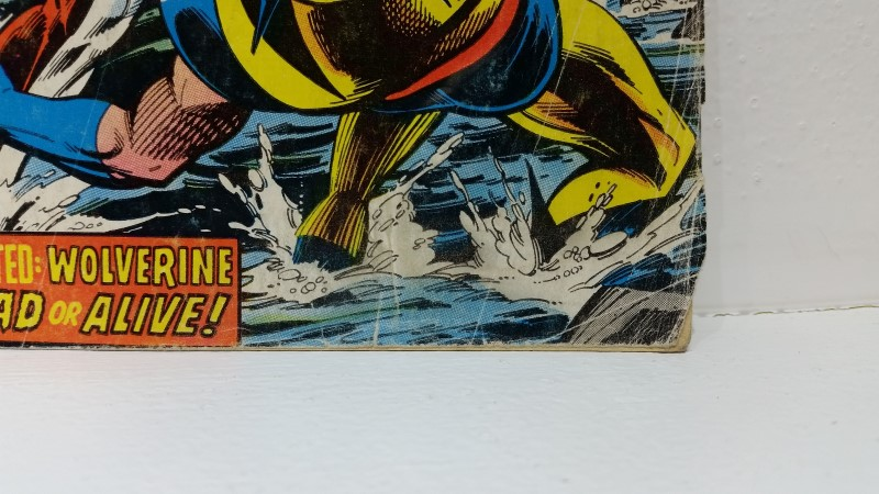 """X-Men #109 Feb 1978 """"Home are the Heroes"""" Weapon Alpha Gary Cody First"""