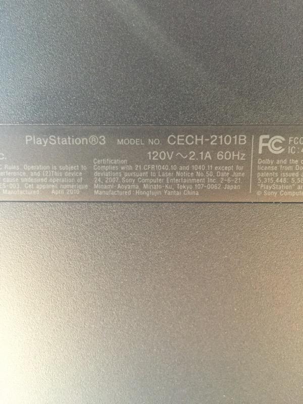 SONY PLAYSTATION 3, 250GB, TESTED!