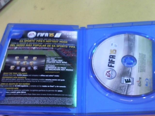 SONY Sony PlayStation 4 Game FIFA 15 - PS4