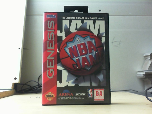 SEGA Sega Game NBA JAM-GENESIS