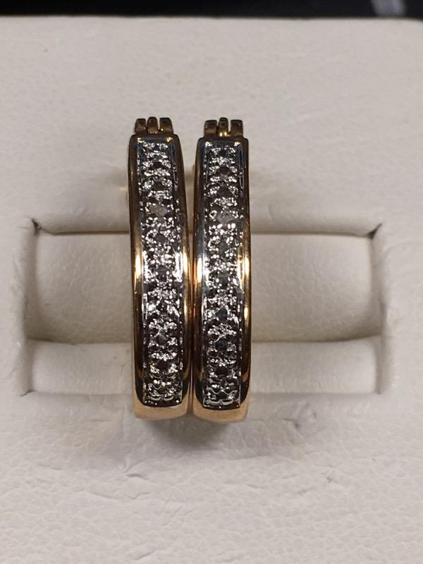 Silver Earrings 925 Silver 1.6dwt