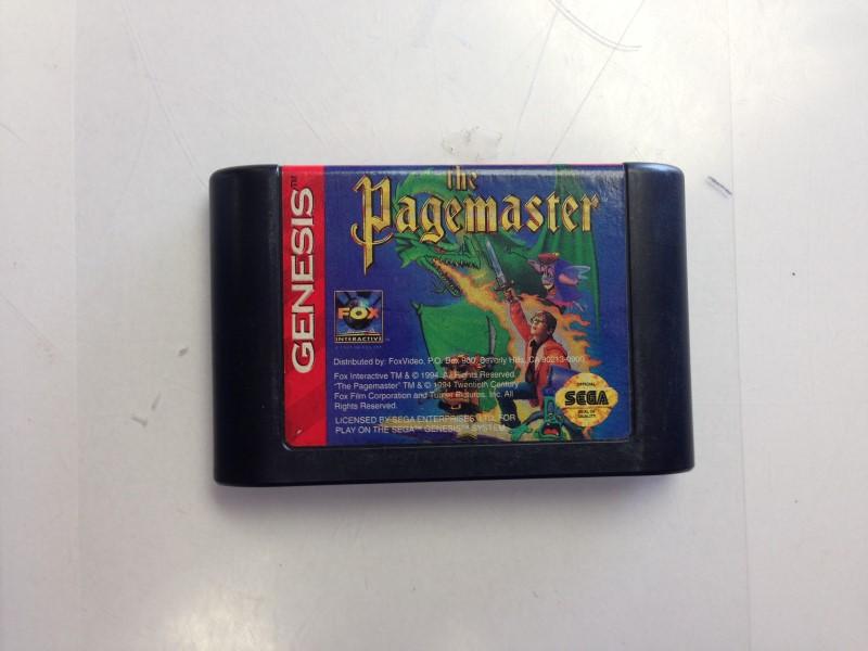 The Pagemaster (Sega Genesis, 1994)