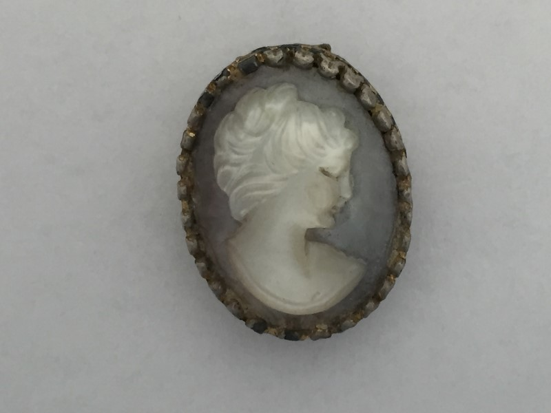 Cameo Antique Stainless 8g