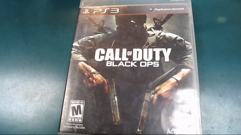 SONY PS3 CALL OF DUTY BLACK OPS