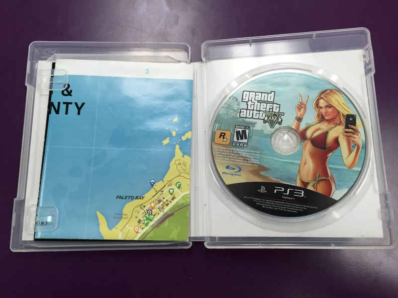 SONY PLAYSTATION 3 GRAND THEFT AUTO V - PS3