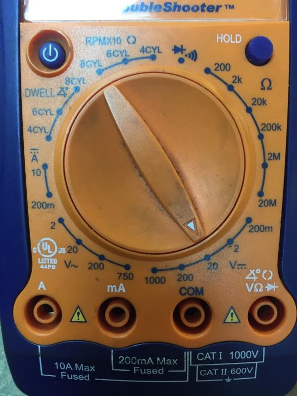 ACTRON Multimeter CP7677