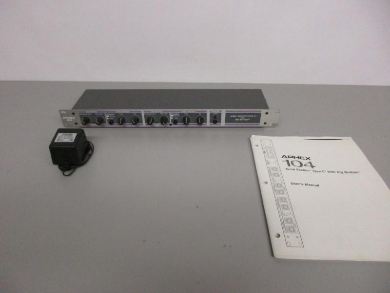APHEX 104 AURAL EXCITER TYPE C2, PARTS/REPAIR