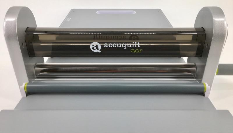 ACCUQUILT GO! 55100 FABRIC CUTTER CUTTING MACHINE, ONE DIE
