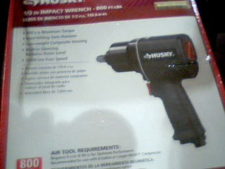 HUSKY TOOLS Air Impact Wrench 683214