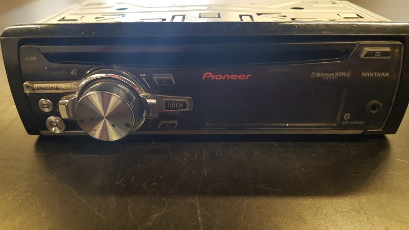 PIONEER ELECTRONICS Car Audio DEH-X8600BS
