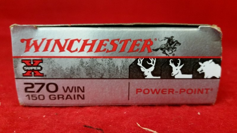 Winchester 270 Win / 150gr Power-Point / X-Series