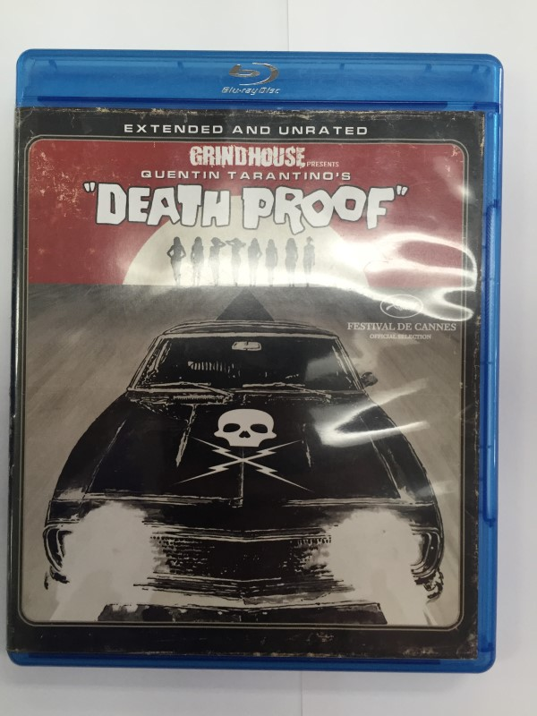DEATH PROOF, HORROR BLU-RAY MOVIE