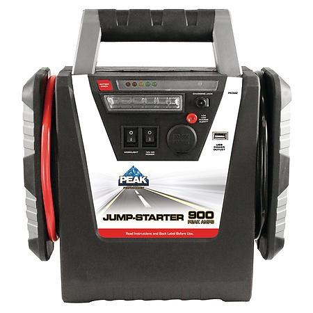 PEAK PERFORMANCE Battery/Charger JUMP STARTER 900