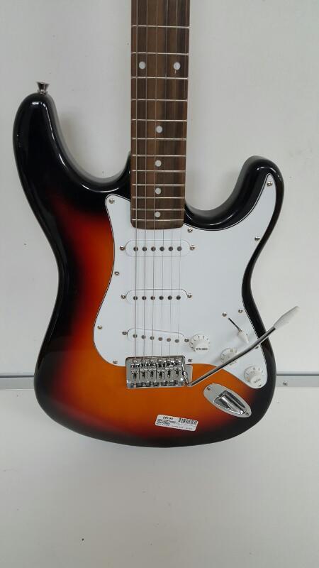 Ion Strat Six String Electric Guitar - Nice Starter Guitar