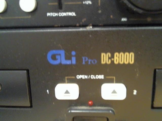 GLI PRO CD Player & Recorder DG-600