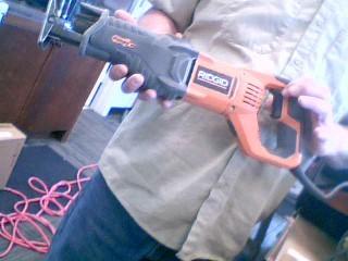 RIDGID TOOLS Reciprocating Saw R3002