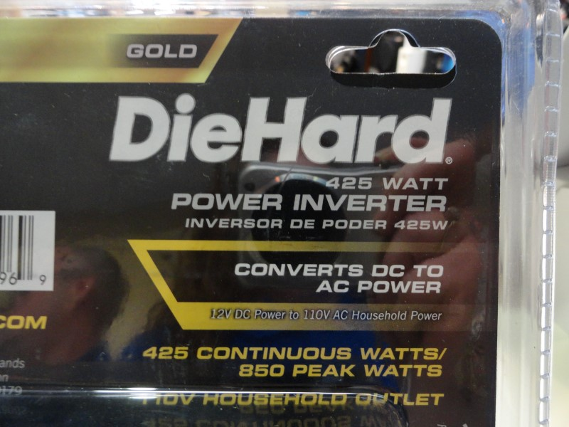 DieHard 28.71496 Gold 425 Watt Power Inverter