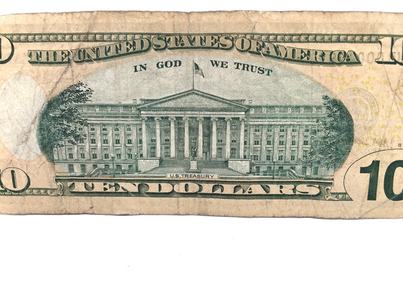 2009 $10 Ten Dollar STAR Note - Low Serial No. - Cleveland