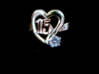 Lady's Gold Ring 14K Tri-color Gold 1.5g