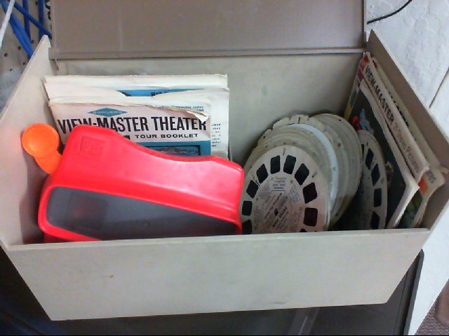 View Master with 70 Reels and Case