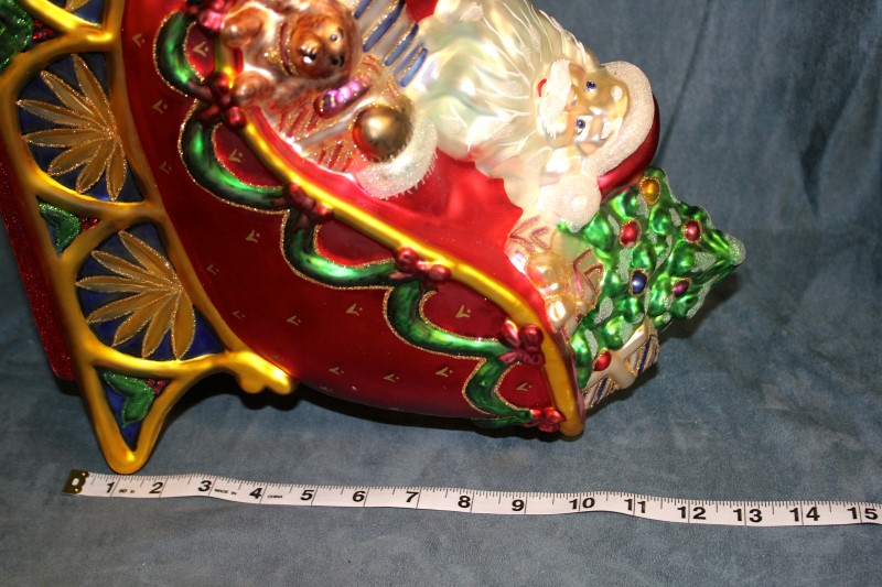 Waterford holiday heirlooms sleigh ride centerpiece