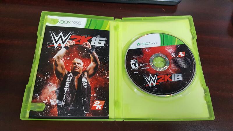 WWE 2K16 (Microsoft Xbox 360, 2015)