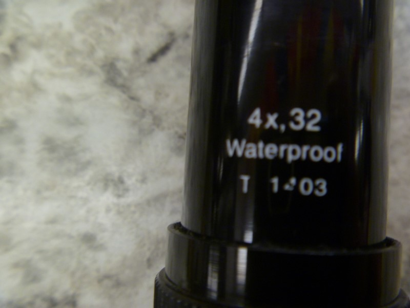 BUSHNELL SPORTVIEW 4X32 RIFLE SCOPE (NO MOUNTS)