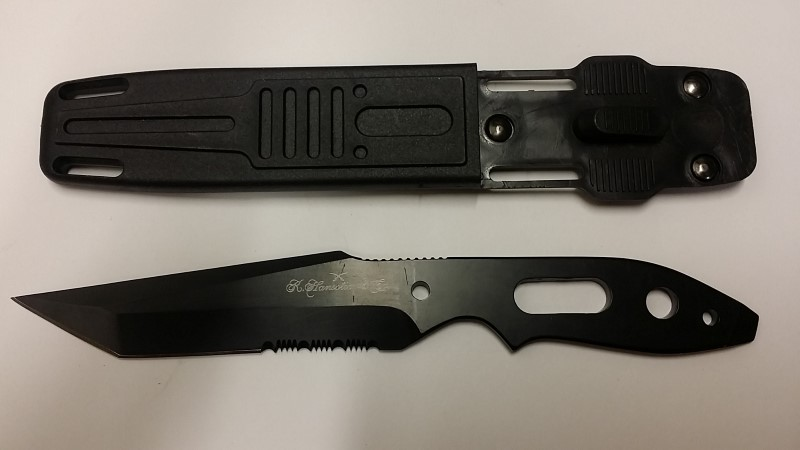 R. HANSOTIA & CO COMBAT KNIFE