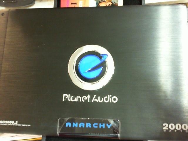 PLANET AUDIO Car Amplifier AC2000.2