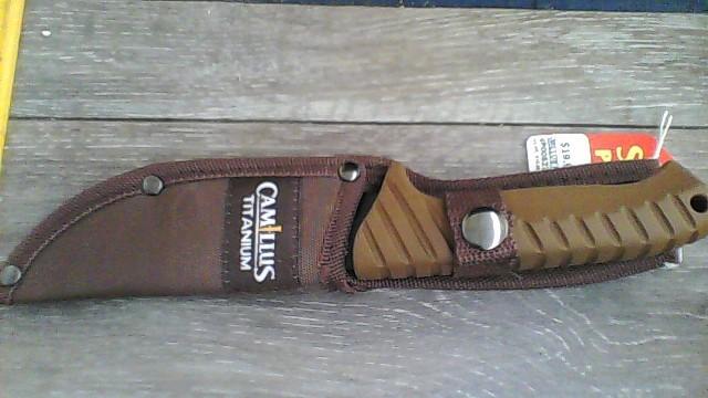 CAMILLUS Hunting Knife TITANIUM KNIFE WITH SHEATH