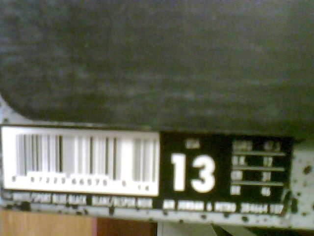 "Nike Air Jordan 6 Retro ""Sport Blue"" Style # 384664-107 Size 13"