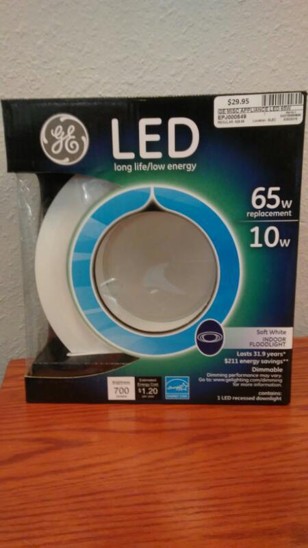 GE Miscellaneous Appliances LED 65W