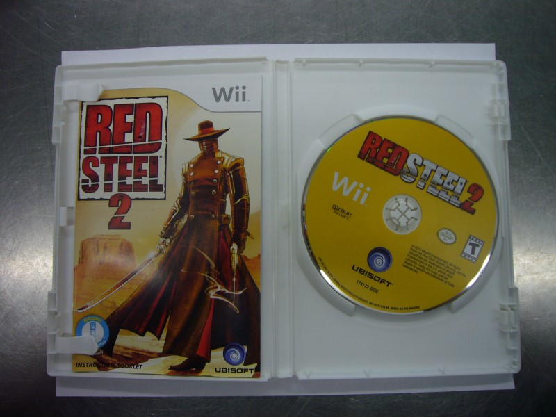 NINTENDO Wii Game RED STEEL 2