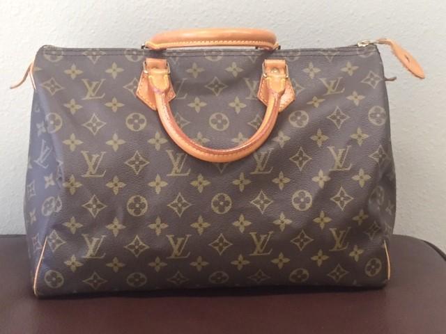 LOUIS VUITTON Handbag MONOGRAM SPEEDY 35