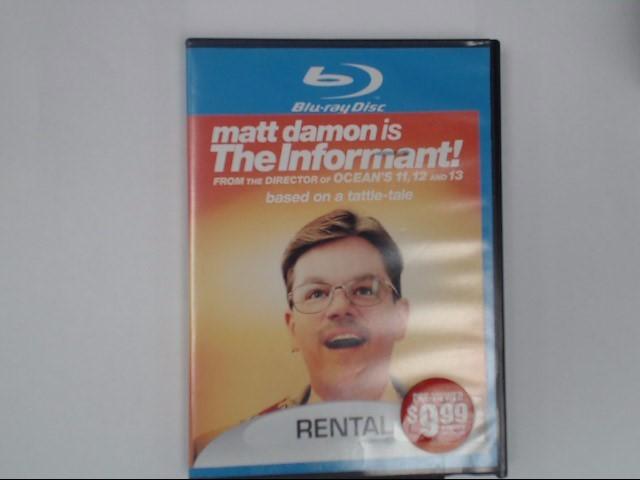 THE INFORMANT, BLU-RAY DVD MOVIE