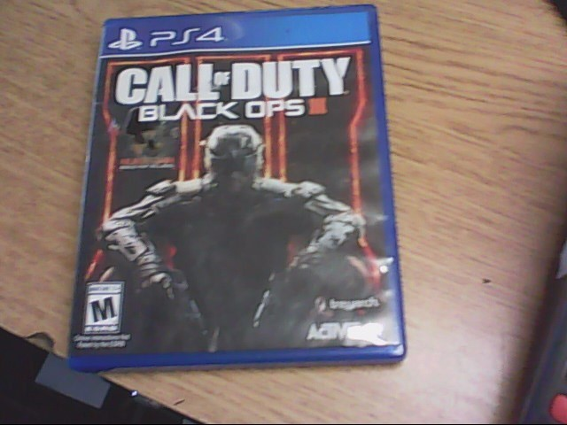 SONY Sony PlayStation 4 Game PS4 CALL OF DUTY BLACK OPS 111