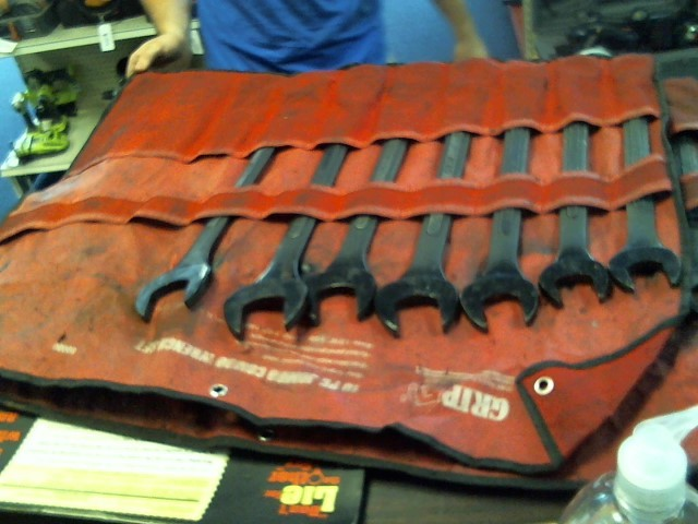 GRAND RAPIDS INDUSTRIAL PRODUCTS - GRIP Wrench 10 PIECE JUMBO WRENCHES