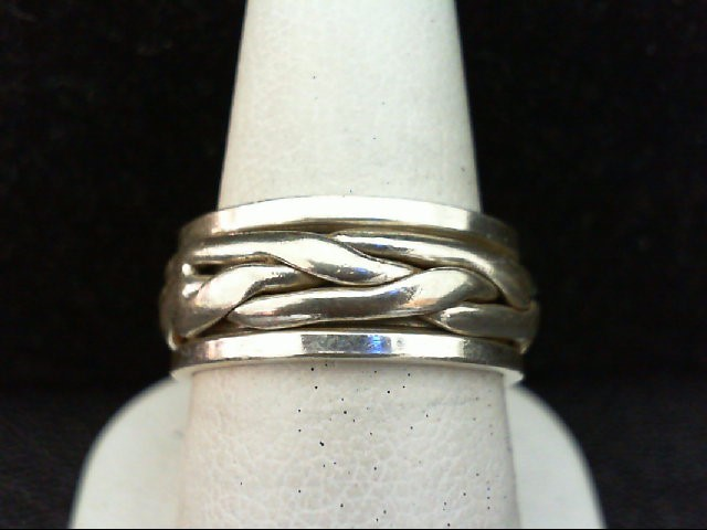 Gent's Silver Wedding Band 925 Silver 8.6g