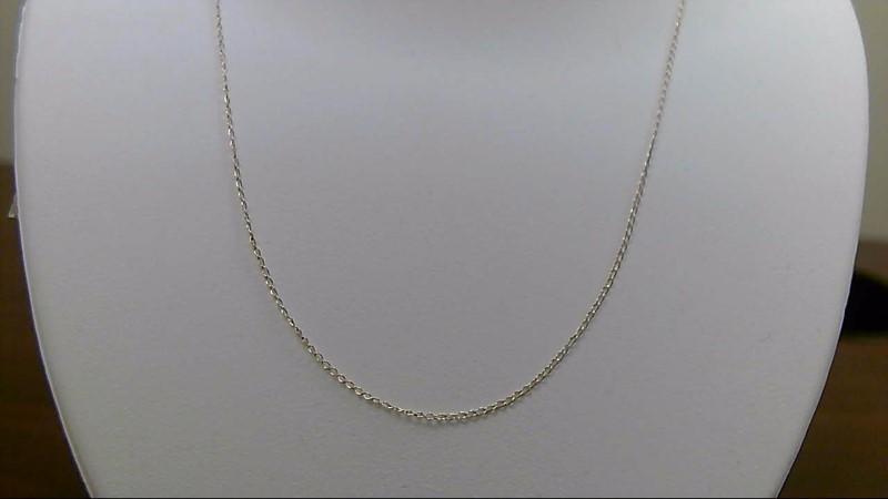"18"" Gold Fine Chain 14K Yellow Gold 0.5g"