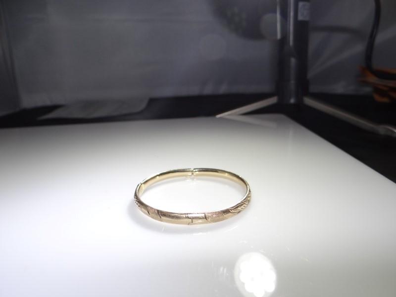 Gold Fashion Bracelet 14K Yellow Gold 5.13g