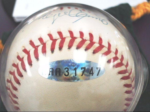 Roger Clemmons Signed Baseball *Upper Deck Authenticated*