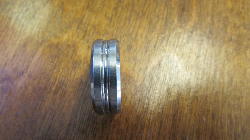 TRITON STAINLESS STEEL RING SIZE 10