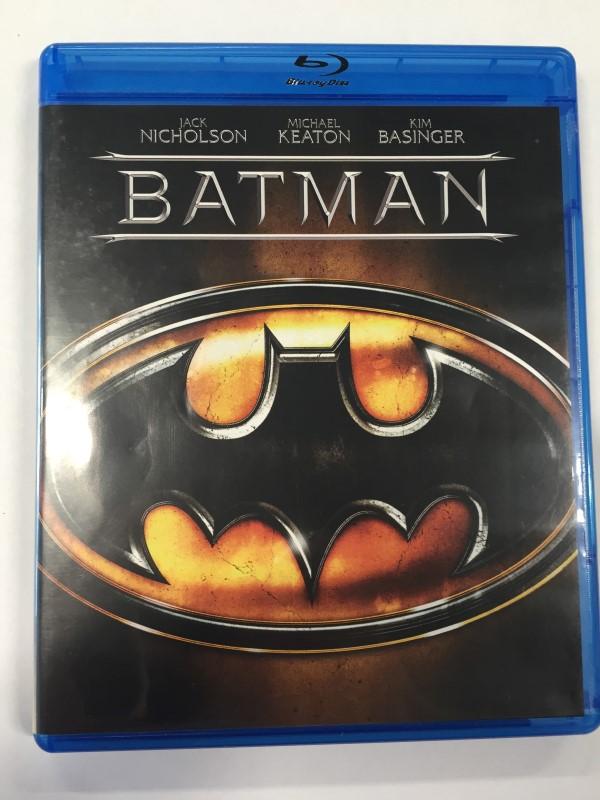 BATMAN (1989) BLU-RAY ACTION MOVIE, STARRING MICHAEL KEATON